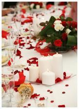 dekorace stolu...