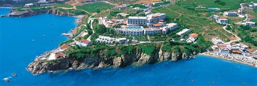 romantický hotel na útesu Peninsula