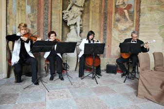 Skvělé kvarteto Rubin Strings