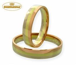 takové máme prstýnky, chtěli jsme něco zajímavého a přechod barev není na živo tak výrazný, jsou velmi elegantní