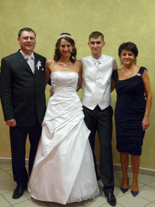 Miriamka{{_AND_}}Borisko - S krstnými rodičmi