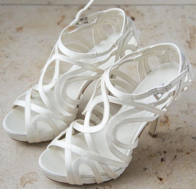 Luxusní svatební střevíčky Calvin Klein - Obrázek č. 1