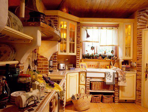 Zděné kuchyně - Obrázek č. 5