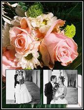 ukázka z naší svatební knihy, je úžasná!