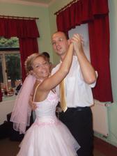 Tady tancuji s mým bráškou