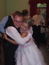 Novomanželé ve víru tance:-)