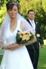 Ženích v popredí