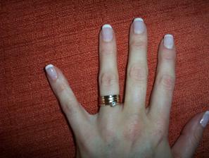 A takto bude vyzerat moja rucka po svadbe:))