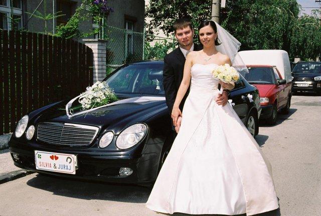 Silvia{{_AND_}}Juraj - svadobný autiak... ide sa na to...