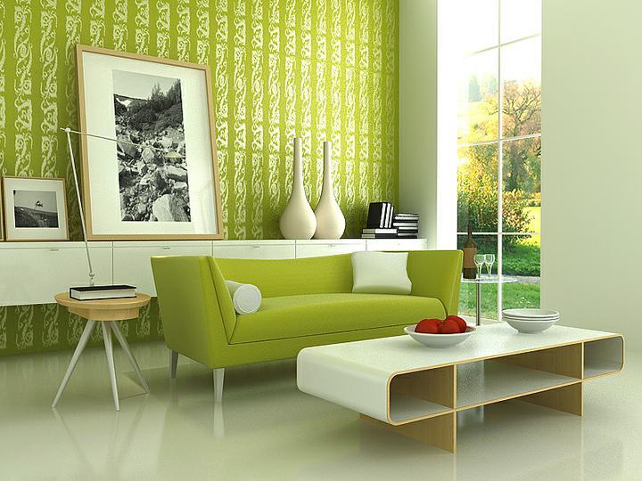 Zelená je taky dobrá.. - V tomto stylu..barvy:bílá, hnědá-capucino a zelený doplňky