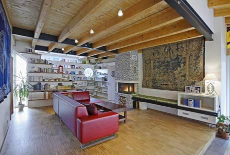 Inšpiracie do našho pidi domčeka x-) - drevene stropy ... krasaaaa