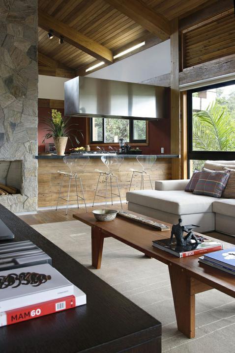 Pre mňa úžasná kombinácia dreva a šedej farby - Obrázok č. 106