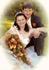 Novomanželé Peškovi