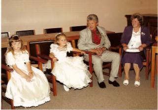 Naše družičky a ženichovi rodiče