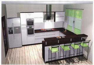 kuchyň doma.. ešte nenamontovaná..