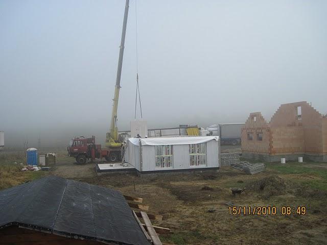 Jiz take stavime Novu 101 - najednou se snesla mlha