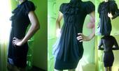 1x oblečné šaty, S