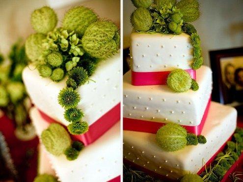 Pink+green wedding - Obrázok č. 33