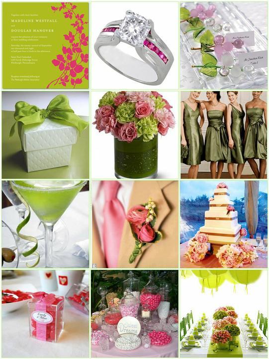 Pink+green wedding - Obrázok č. 31