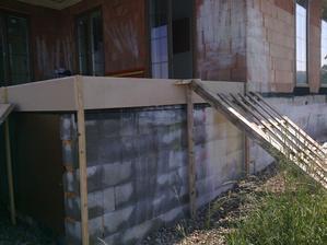 betonování terasy