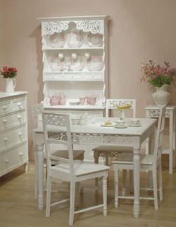 Biely  romanticky nábytok - Obrázok č. 17