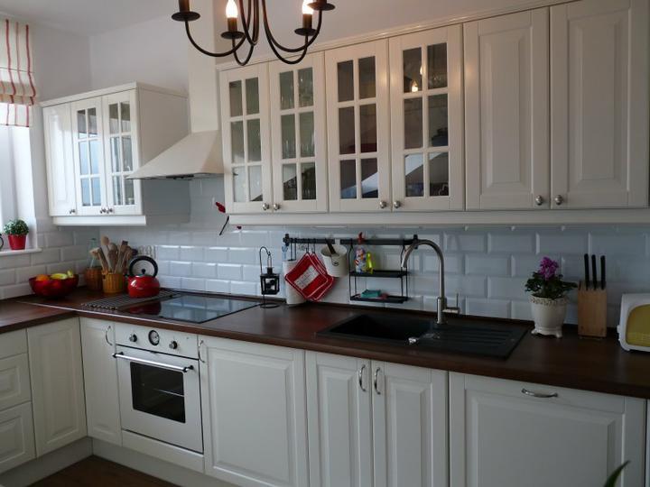 Фартук для белой кухни с серой столешницей кухонный фартук бамбук