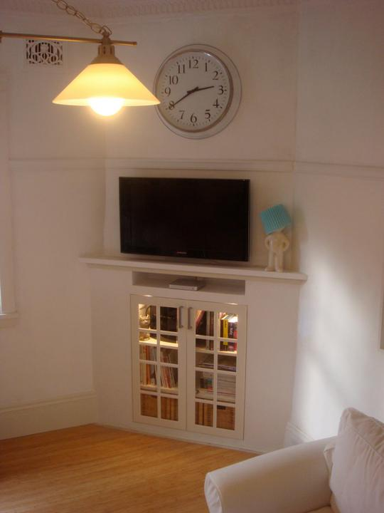 Pani kuchyňa - pani kuchyňa v obývačke ako originálna skrinka pod televízor
