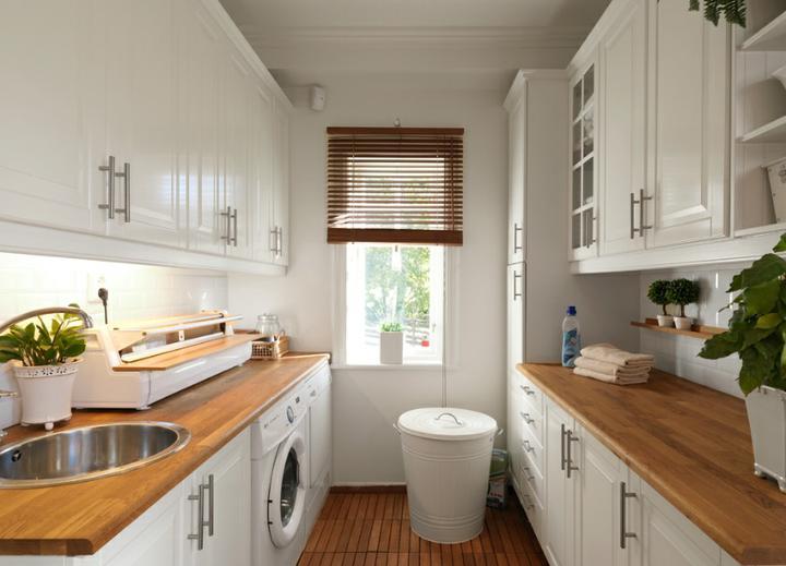 Pani kuchyňa - ...pani kuchyňa v  práčovni