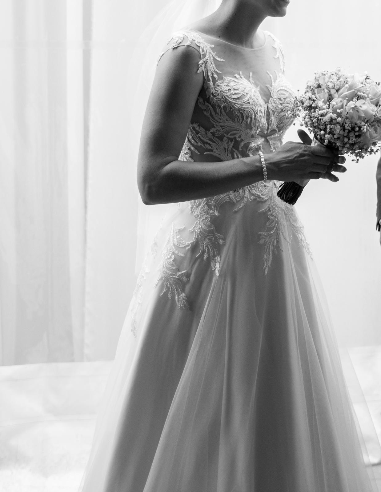 Svadobné šaty Rosalino zn. Hadassa - Obrázok č. 1