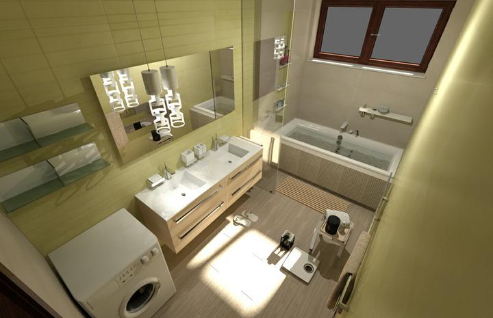 Galéria kúpeľní - vizualizácie - Kúpeľňa návrh