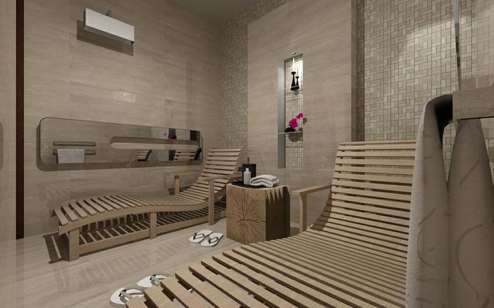Galéria kúpeľní - vizualizácie - Domáce wellness - 3D návrh