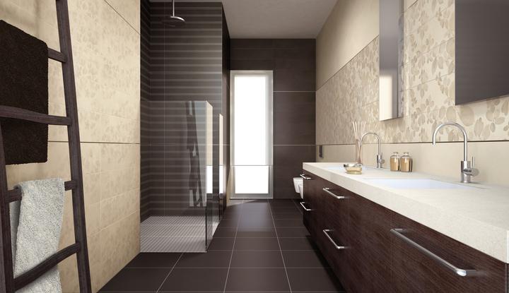 Keramické obklady a dlažby v kúpeľni - Obrázok č. 5