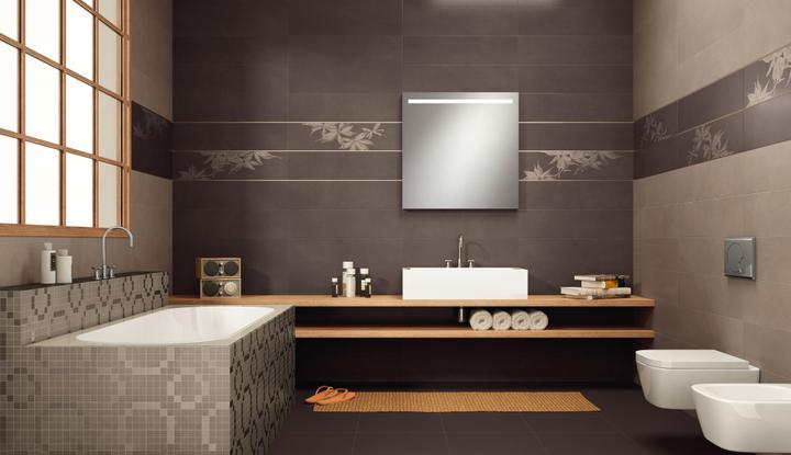 Keramické obklady a dlažby v kúpeľni - Obrázok č. 1