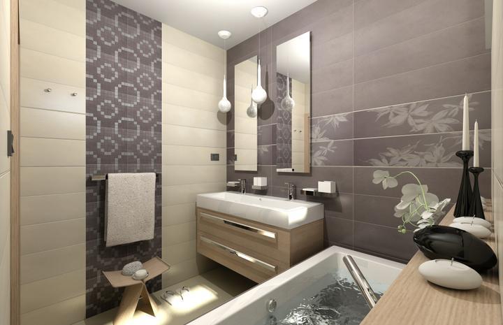 Vizualizácie malých kúpeľní - Vizualizácia kúpeľne - www.modernekupelne.sk