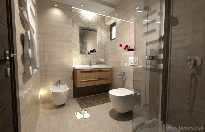 3D návrhy kúpeľní - vizualizácie BENEVA - Vizualizácia kúpeľne