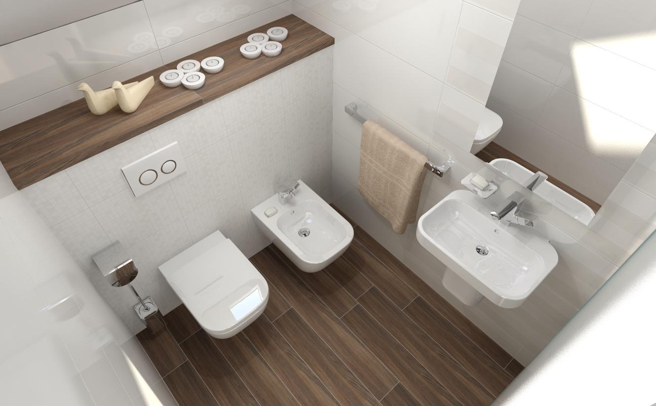 Vizualizácie kúpeľní v rodinnom dome. - Obrázok č. 12