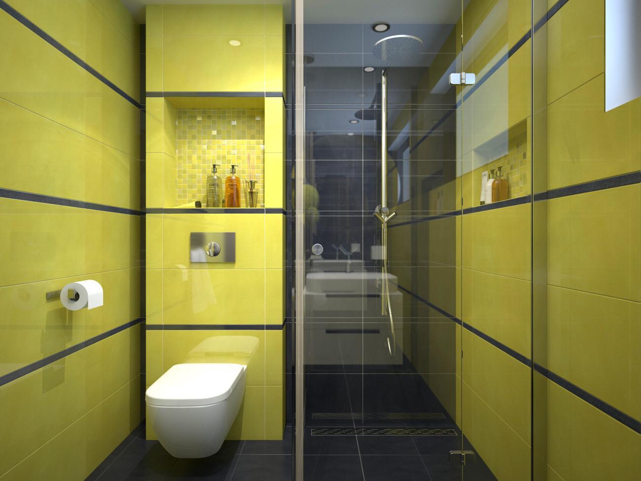 Vizualizácie kúpeľne - LIME & STEEL 30,5x56  - www.modernekupelne.sk/navrhy-kupelni