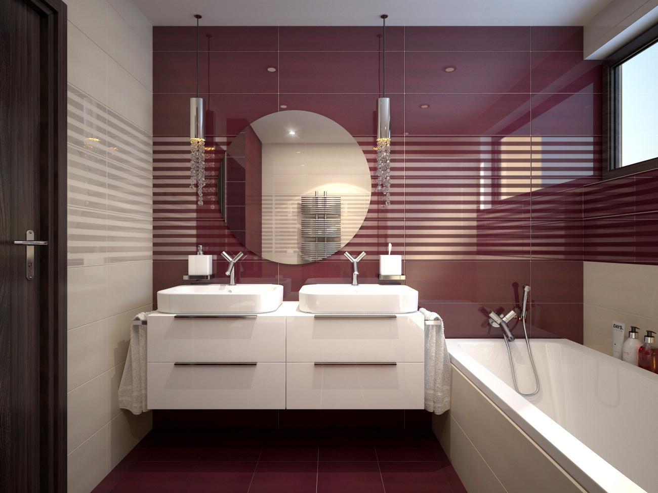 Pohľad do vašej budúcej kúpeľne - Camelia & Ibisco 25x75 - www.modernekupelne.sk/navrhy-kupelni