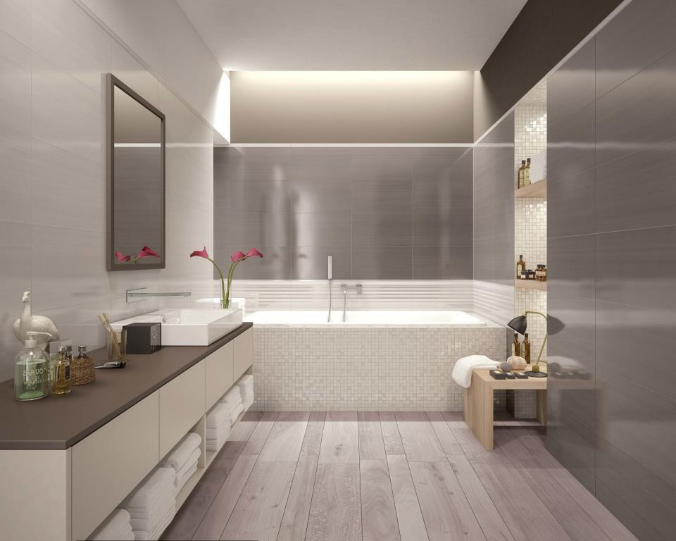 Dlažby do kúpeľne v imitácii dreva - www.modernekupelne.sk - Obrázok č. 2