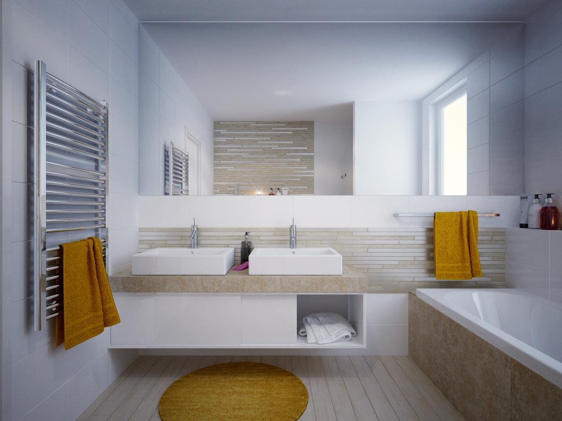Vizualizácie kúpeľne - Vizualizácia kúpeľne BENEVA
