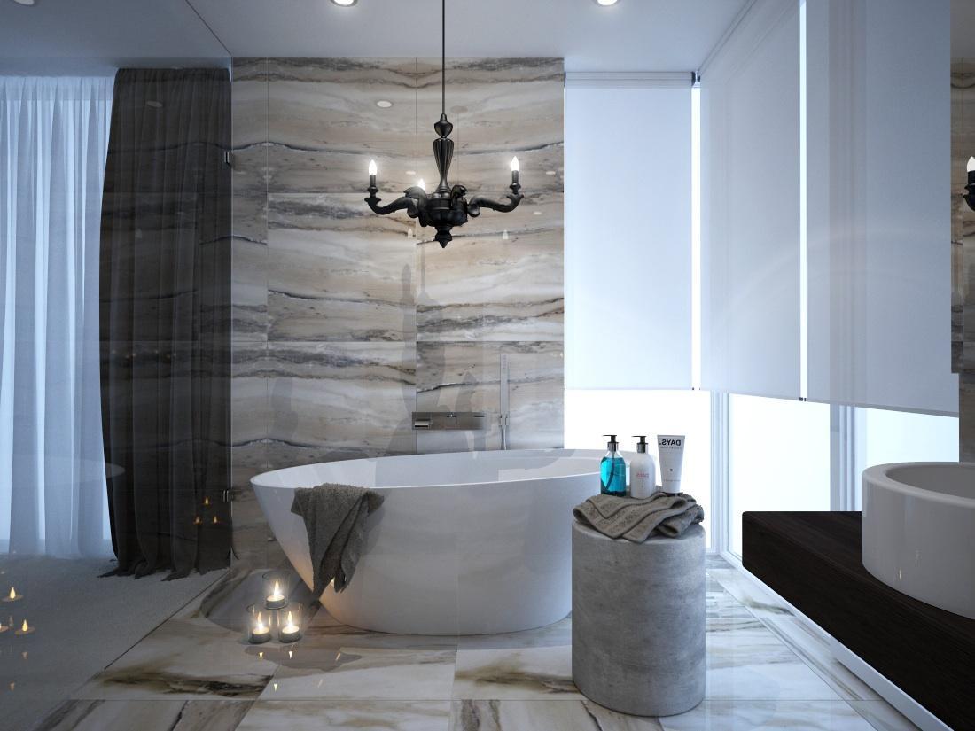 Vizualizácie kúpeľne - Vizualizácia kúpeľne Luxor 60x60