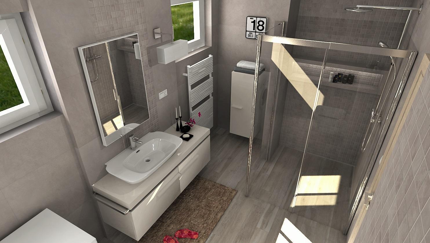 3D návrhy kúpeľní - vizualizácie - Obrázok č. 14
