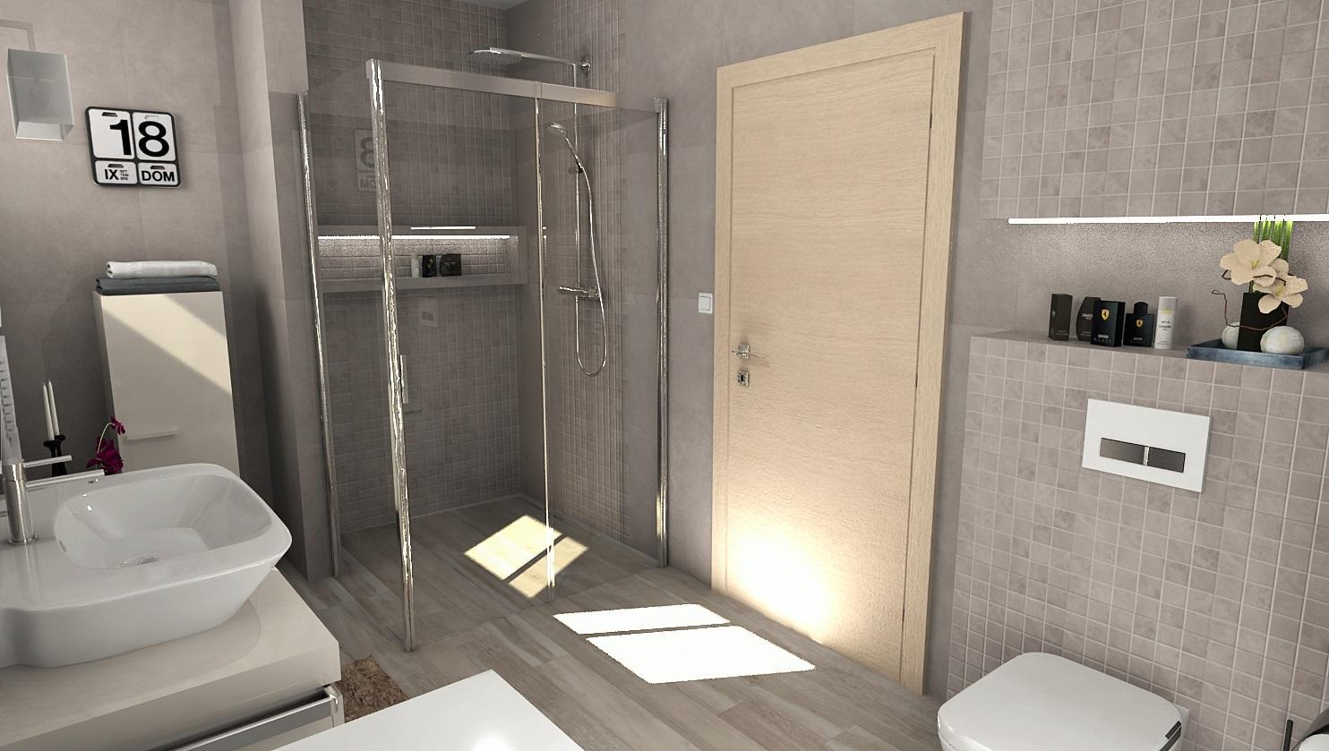 3D návrhy kúpeľní - vizualizácie - Obrázok č. 16