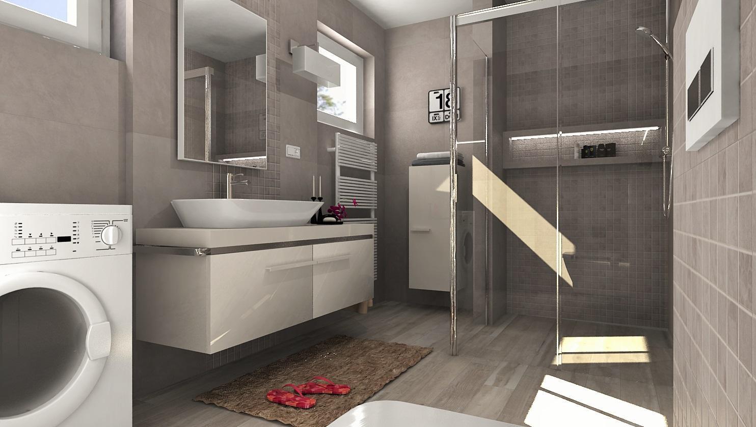 3D návrhy kúpeľní - vizualizácie - Obrázok č. 17