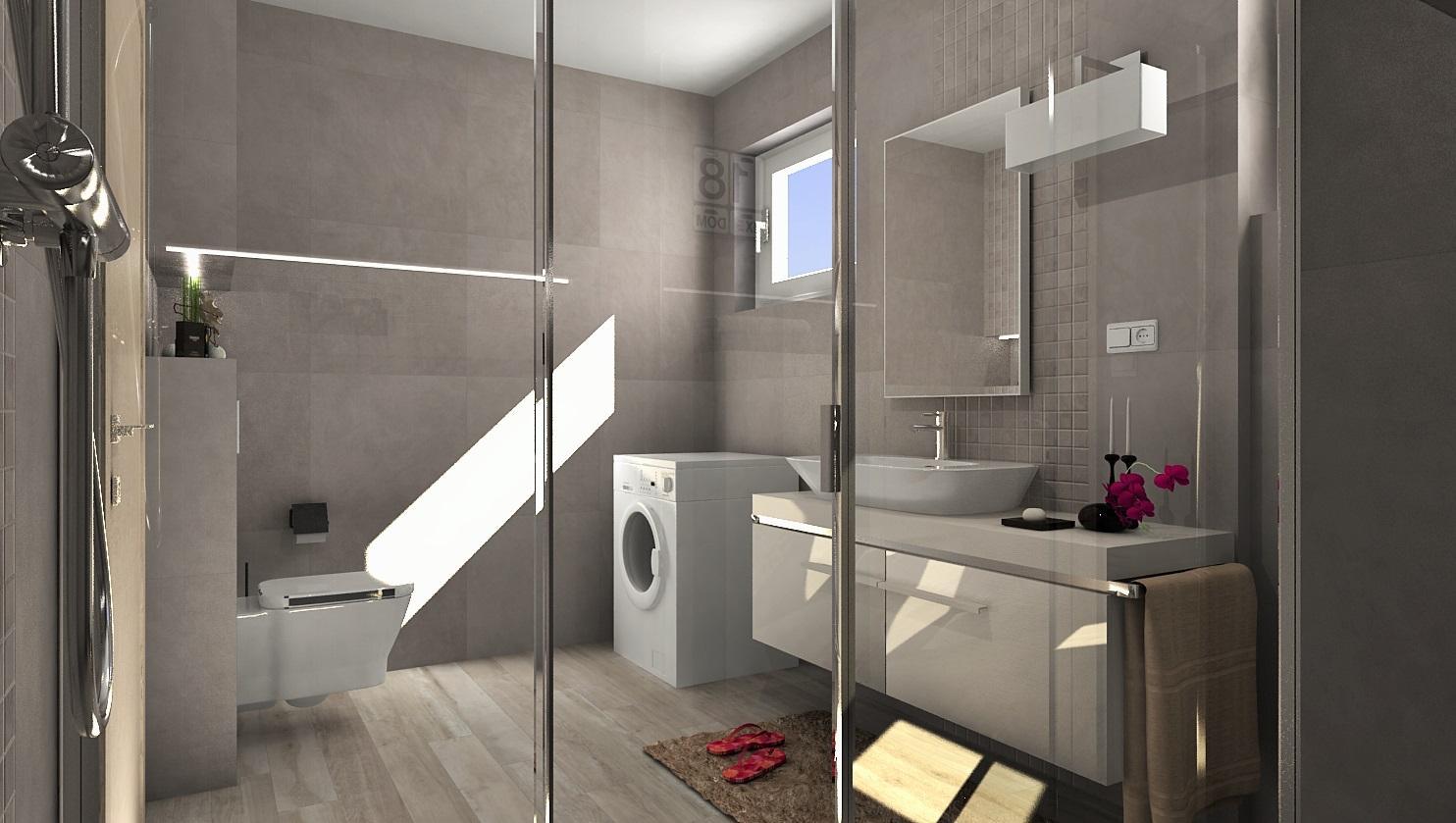 3D návrhy kúpeľní - vizualizácie - Obrázok č. 18