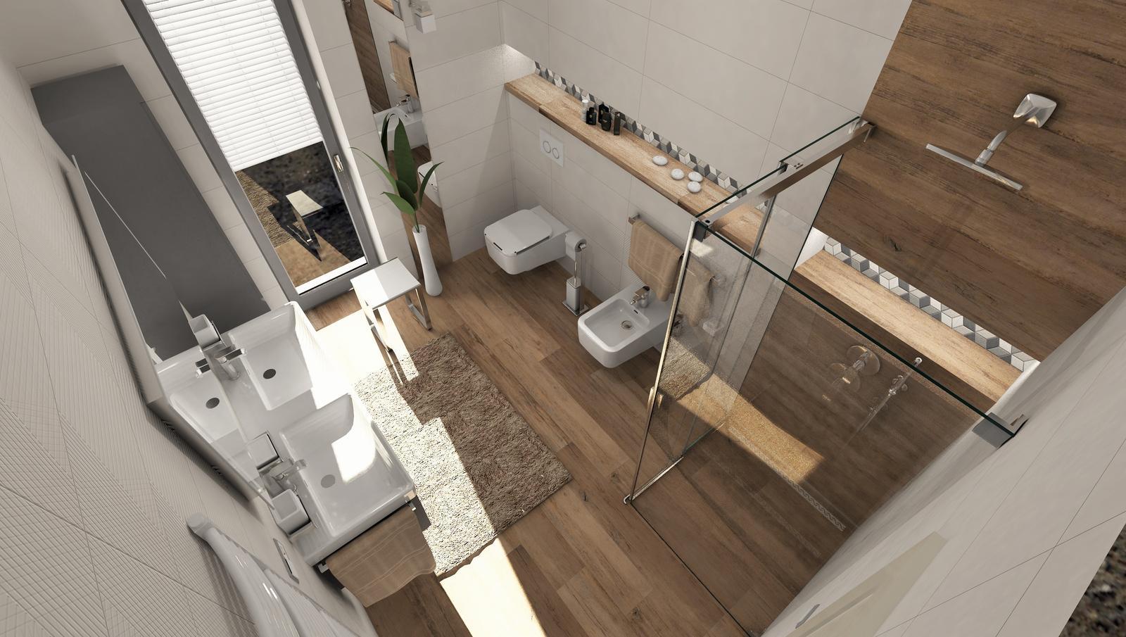 3D návrhy kúpeľní - vizualizácie - Obrázok č. 25