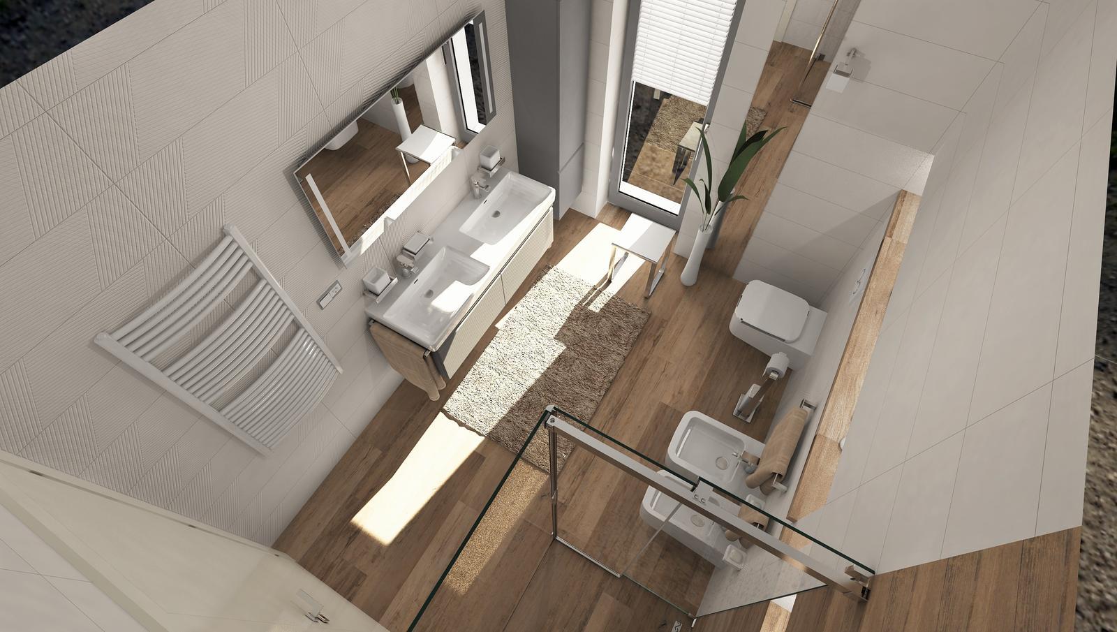 3D návrhy kúpeľní - vizualizácie - Obrázok č. 26