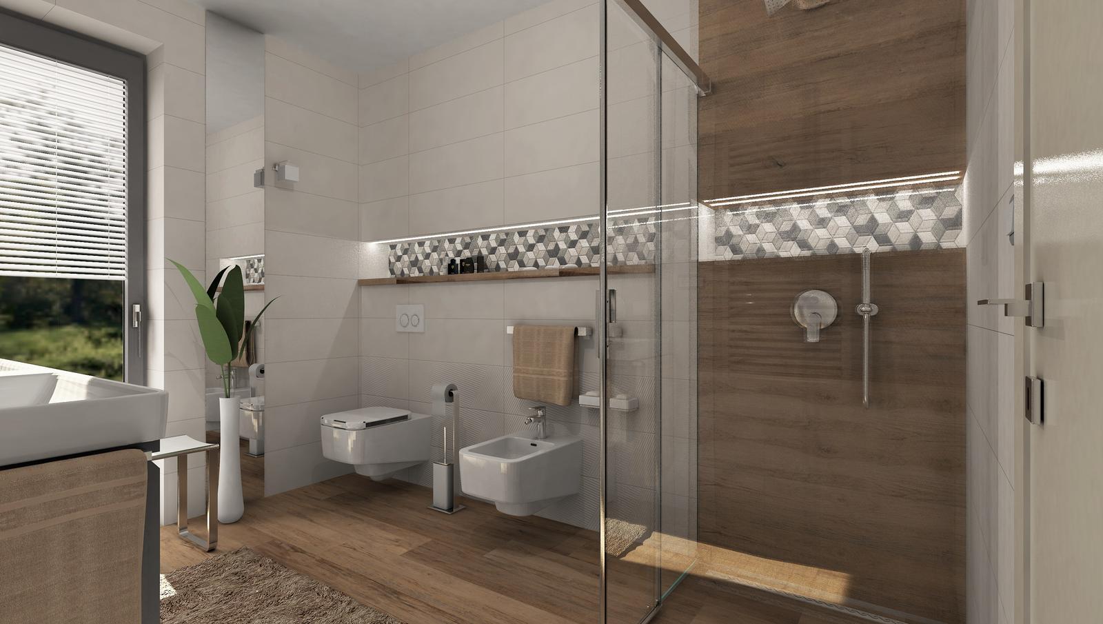 3D návrhy kúpeľní - vizualizácie - Obrázok č. 27