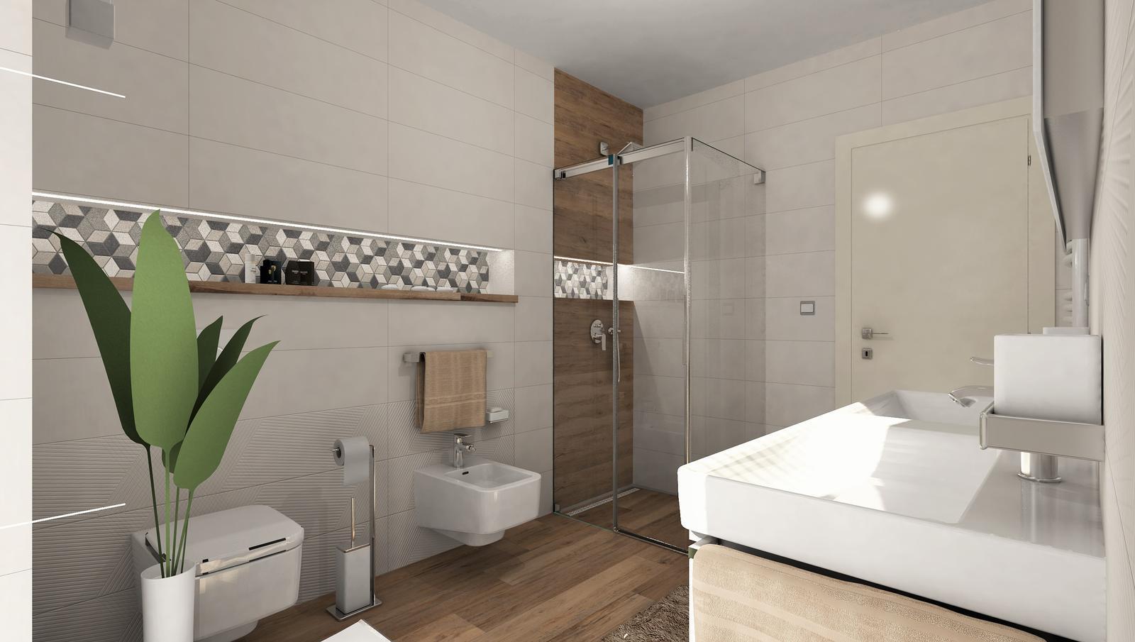 3D návrhy kúpeľní - vizualizácie - Obrázok č. 28