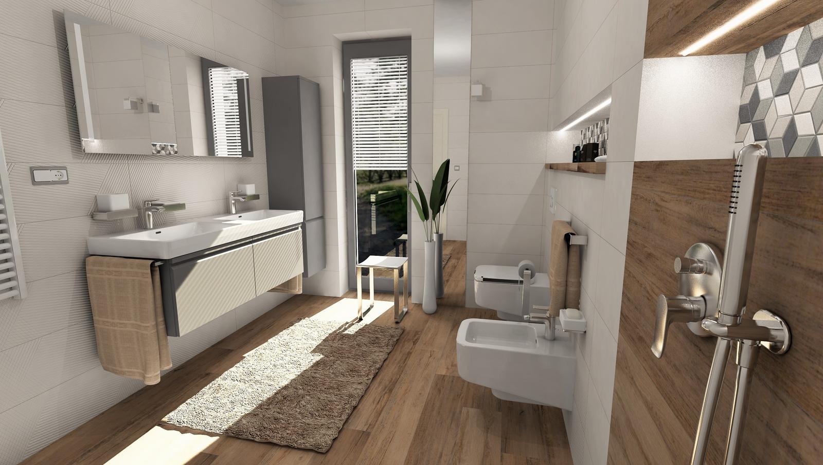 3D návrhy kúpeľní - vizualizácie - Obrázok č. 30